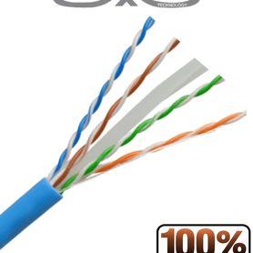 cable utp cat6a belden 10gxs12 0061000 forro pvc azul cmr riser 4 pares 625 mhz calibre 23 awg 100 cobre uso interior especial