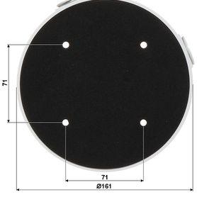 botón liberador axceze axpub82 botón push de plástico medidas 86x86 conexión a 2 hilos cuenta con el estado no montaje superfi