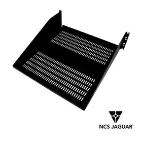 charola de fijacion lateral ventilada ncs jaguar ncsvcs317 3ur para racks o gabinetes de 19 ventilada acero con acabado textur