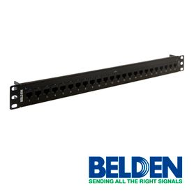 patch panel belden ax103253 cat6 24ptos 1u precargado