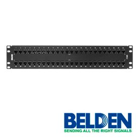 patch panel belden ax103255 cat6 48ptos 2u precargado