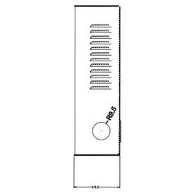 patch panel modular belden ax103115 cat66a 48espacios 2ur