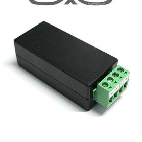housing meriva technology mva605 beige  37cm largo  ip66  exterior no incluye brazo
