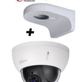housing meriva technology mva610b xl negro mate  25cm largo  ip66  exterior no incluye brazo