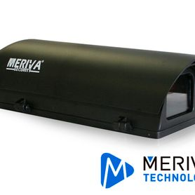 housing meriva technology mva610bhb xl negro mate  25cm largo calefaccion  ventilador  ip66  exterior no incluye brazo