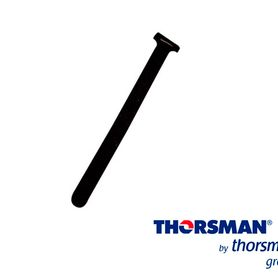 cinthos de contacto thorsman  150mm largo x12mm ancho 430002001 color negro bolsa 20piezas reutilizables ideales para identific