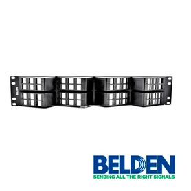 patch panel angleflex belden ax103249 10gx5e6 48espacios 2