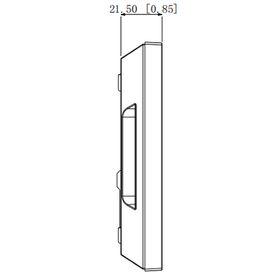 patch panel angulado belden ax104599 24 puertos 1 ur modular cat 5e66a
