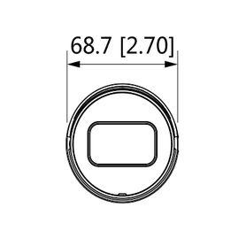 camara movil domo meriva technology mc3000hd antivandalico ahd 2mp  28mm  ip66  10m ir no audio  sony starlight  conector din d