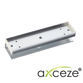 bracket tipo u axceze axm320u compatible con los imanes de la serie m320 útil para colocar la contra en las puertas de cristal