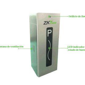 mlc620 kit con 1x chapa magnetica axm620l  1x bracket tipo zlc axm620zlc para puerta de madera o metal