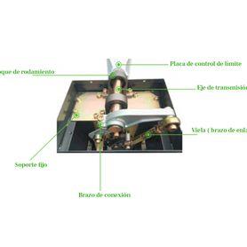 mzlc620 kit con chapa magnetica axm620lds  1x bracket tipo zlc axm620zlc para puerta de madera o metal  sensor magnetico