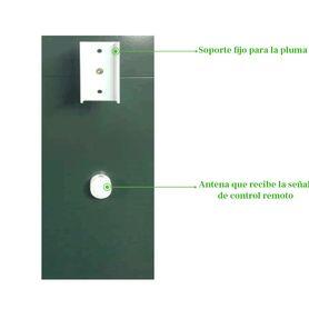 mzlc620 kit 1x chapa magnetica axm620t  1x bracket tipo u axm620u 1x bracket tipo l axm620l para puerta de vidrio con marcotemp