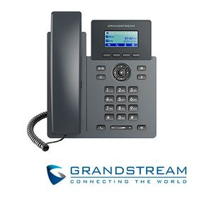 telefono ip grado carrier grandstream grp2601p 2 cuentas sip 2 lineas compatible con gdms conferencia de 5 vias ehs poe no incl