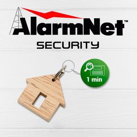 servicio alarmnet supervision comercial de panel cada 1minuto pago anual