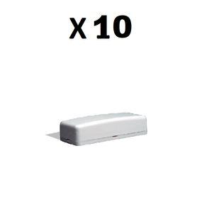 kit alarma inalambrica duosmart c20 comunicacion dual wifi 24 ghz rf 43392 incluye 1 panel 1 pir 1 magneto 1 llavero compatible