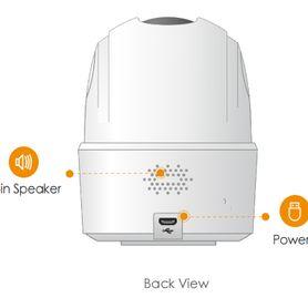kit alarma inalambrica duosmart c30 comunicacion dual wifi 24 ghz rf 43392 incluye 1 panel con teclado 1 pir 1 magneto 2 llaver
