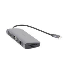 placa de pared vertical salida para 4 puertos keystone con espacios para etiquetas de acero inoxidable