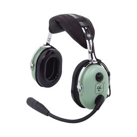 auriculares de ala fija con atenuación de ruido pasivo para aviación general