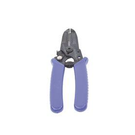 soporte azúl de alivio a tensión en conectores y cables tipo rg58u rg142u lmr195
