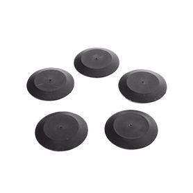 adaptador de 1 puerto para conectores tipo minicom montaje en riel din estándar de 35mm color gris internacional183900