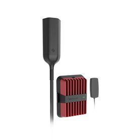 panel de parcheo modular blindado para instalación en riel din estándar de 35mm de 8 puertos minicom color gris183904