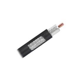 módulo acoplador coaxial tipo f keystone de 75 ohms 30 ghz color marfil