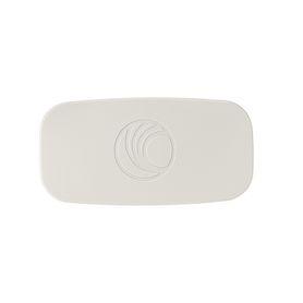 casete de etiquetas de poliéster cinta continua color negro sobre transparente uso interiorexterior resistente a rayos uv 127 m