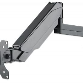 soporte universal de pared para monitor manhattan con pistón a gas