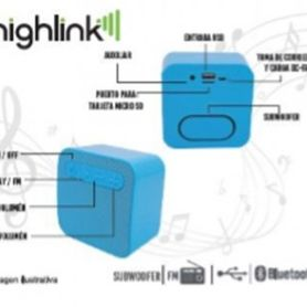bocina inalámbrica highlink 7500462951597