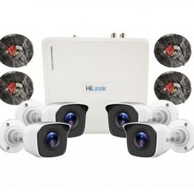 kit de videovigilancia hilook kit7204bp