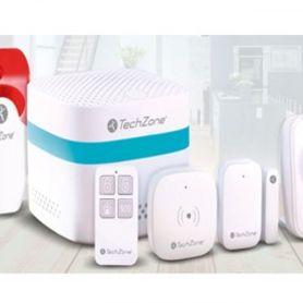 kit de seguridad para smart home techzone tzkit01sh