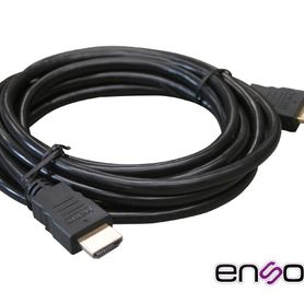 cable de video hdmi enson enshdmicb3m 3mt machomacho version 12 recomendado para sistemas de video vigilancia